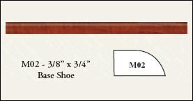 Base Shoe RTF Molding - M02
