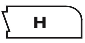 Edge Profile H